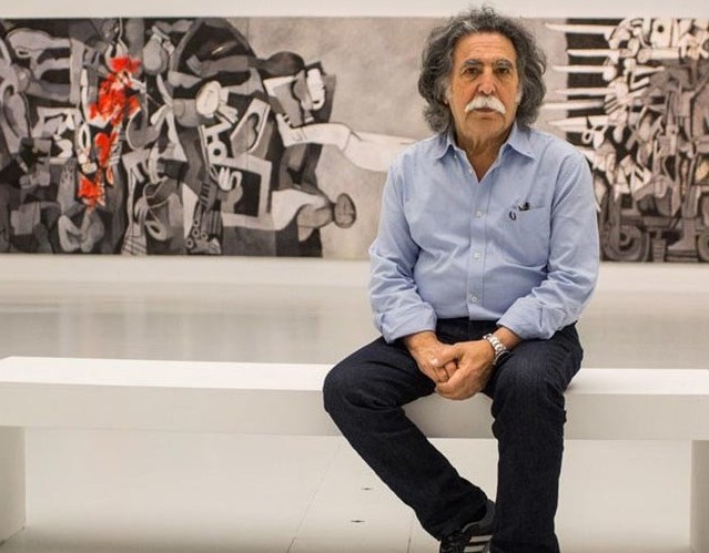 مروری بر زندگی هنری ضیا العزاوی هنرمند عراقی