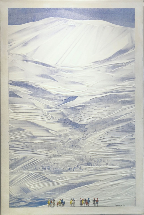 آرتچارت | اثر هنری ازچاوکی چامون