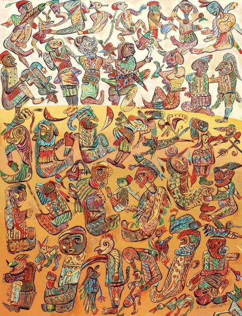 آرتچارت | اثر هنری ازقويدر التريكي