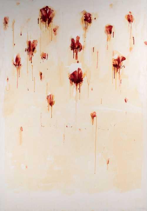 ArtChart   بدون عنوان از مجموعه رزهای مریض by Azadeh Razaghdoost