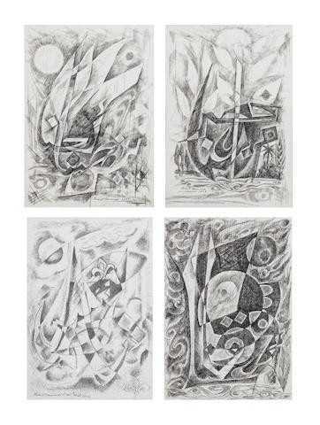 آرتچارت | اثر هنری ازجمیل حمودی