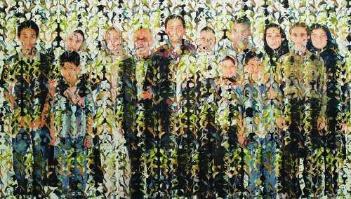 آرتچارت | اثر هنری ازصادق تیرافکن