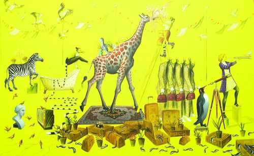 آرتچارت | اثر هنری ازنزار موسوی نیا