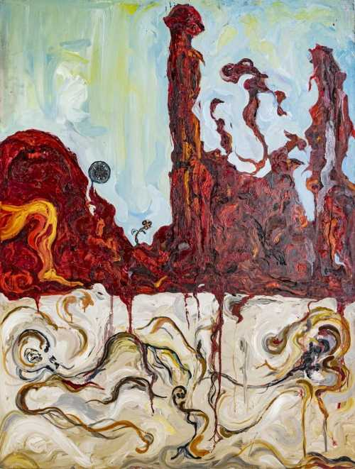 آرتچارت | اثر هنری ازرها رئیسنیا