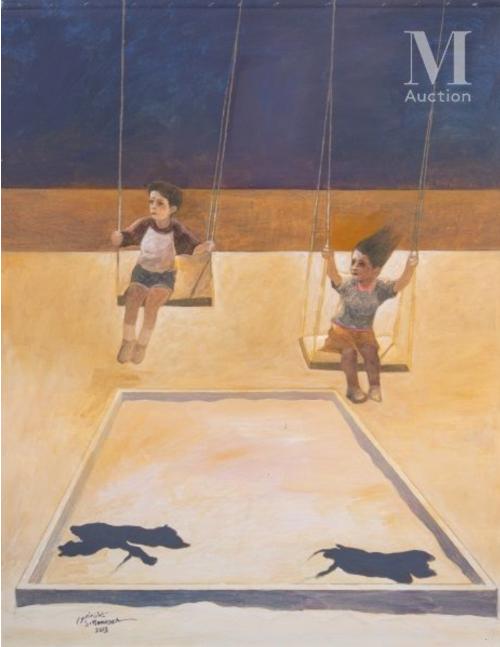 آرتچارت | اثر هنری ازسليمان منصور