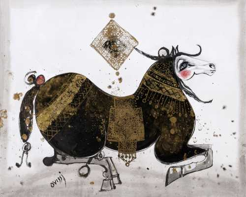 آرتچارت   اثر هنری ازناصر اویسی