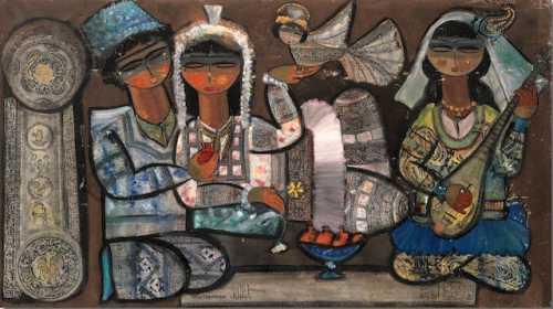 آرتچارت | اثر هنری ازژازه تباتبایی