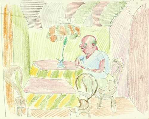 آرتچارت | Self Portrait in Cafe از اردشیر محصص