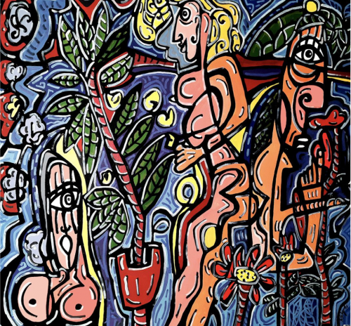 آرتچارت   اثر هنری ازكاتيا طرابلسي