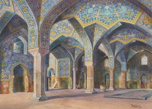 آرتچارت | شبستان مسجد امام اصفهان از یرواند نهاپتیان